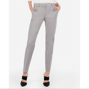 EXPRESS Columnist Mid Rise Ankle Pant